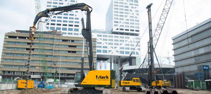 Parkeergarage Jaarbeursplein Utrecht